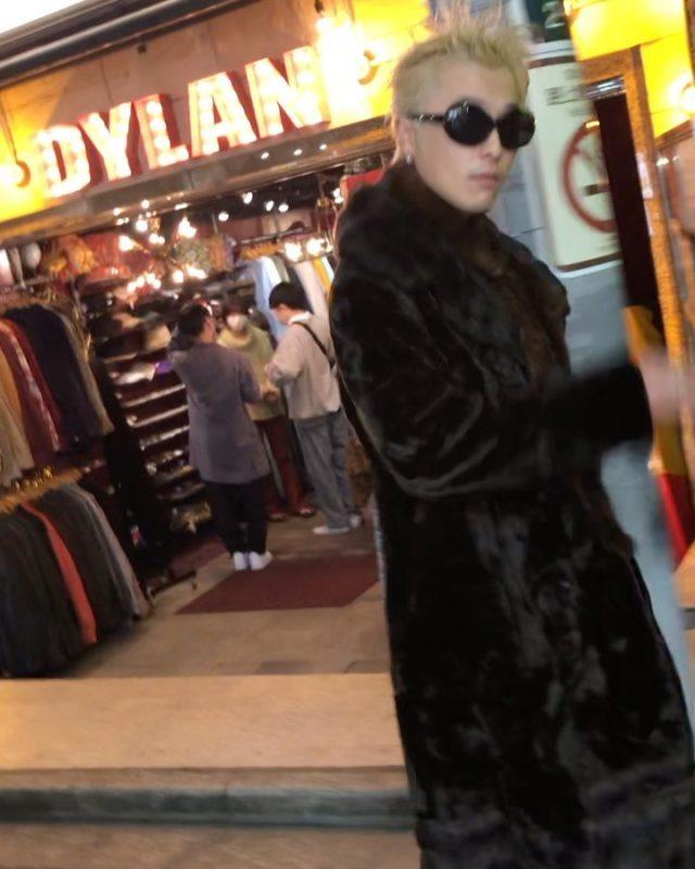 Fur coat🚬 #alaska_tokyo #vintage #shimokitazawa