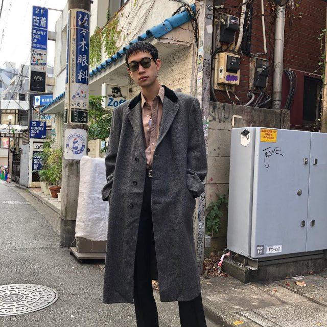 Wool coat🇫🇷 #alaska_tokyo #vintage #shimokitazawa