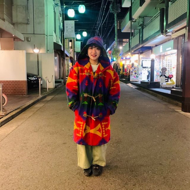 Wool hoodie coat🏕 #alaska_tokyo #vintage #shimokitazawa
