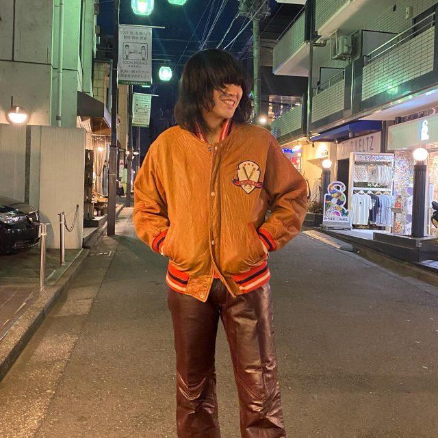 ⚾️⚾️ leather stadium jacket  #alaska_tokyo  #vintage #shimokitazawa