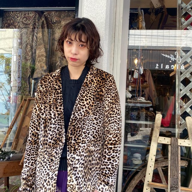 🐆🐆leopard  jacket    #alaska_tokyo  #vintage #shimokitazawa