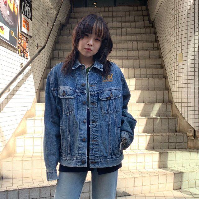 🎶🎶headbangers ball Jean jacket    #alaska_tokyo  #vintage #shimokitazawa