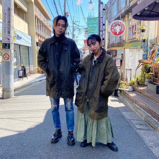 🧥🧥Barbour   #alaska_tokyo  #vintage #shimokitazawa