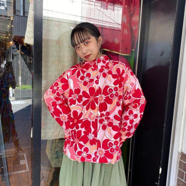 🏵🏵nylon blouson   #alaska_tokyo  #vintage #shimokitazawa