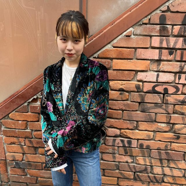 💂🏻♀️💂🏻♀️velour  jacket   #alaska_tokyo  #vintage #shimokitazawa