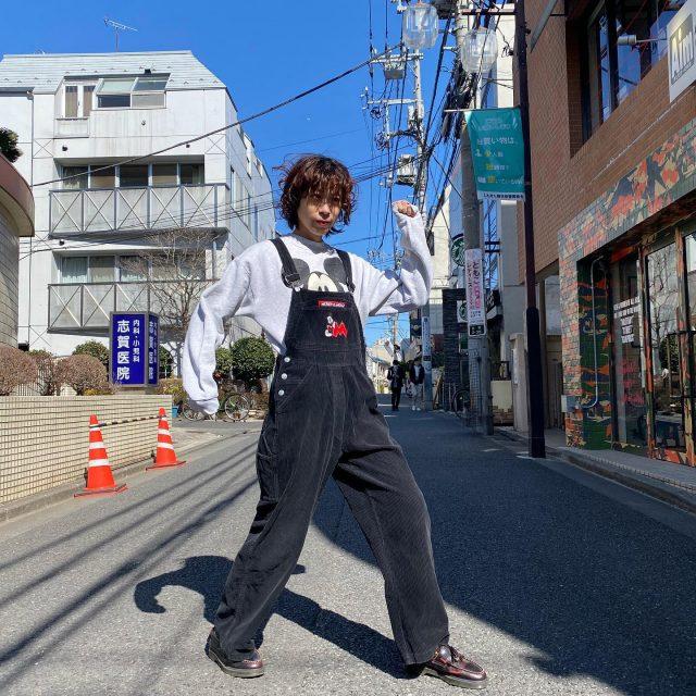 💘💘Mickey coordination    #alaska_tokyo  #vintage #shimokitazawa