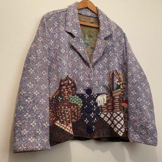 【women's】goblin tailored jacket ¥9,900-  #alaska_tokyo #vintage #shimokitazawa #usedclothing