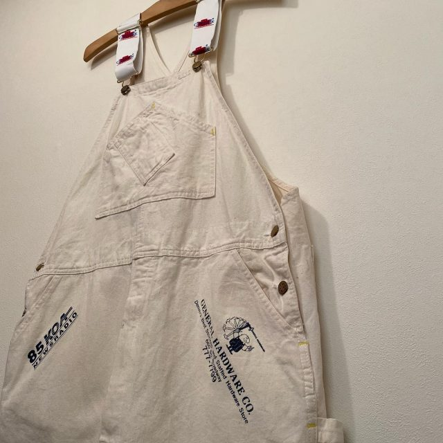 【men's】cotton over all ¥11,000-  #alaska_tokyo #vintage #shimokitazawa #usedclothing