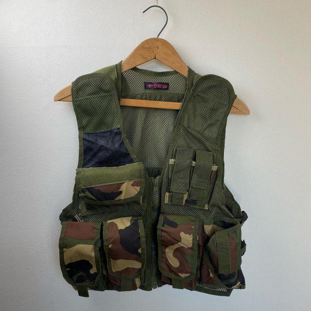 【men's】hunting vest ¥5,500-  #alaska_tokyo #vintage #shimokitazawa #usedclothing