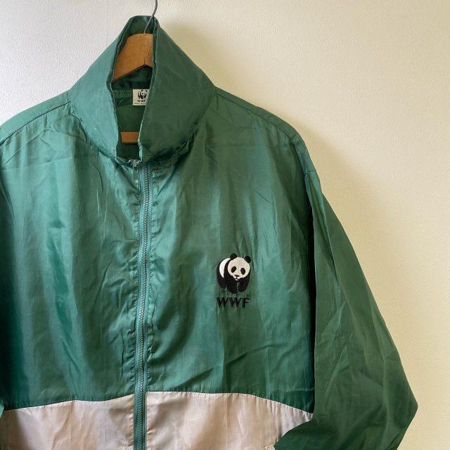 【men's】WWF nylon jacket ¥4,400-  #alaska_tokyo #vintage #shimokitazawa #usedclothing #panda