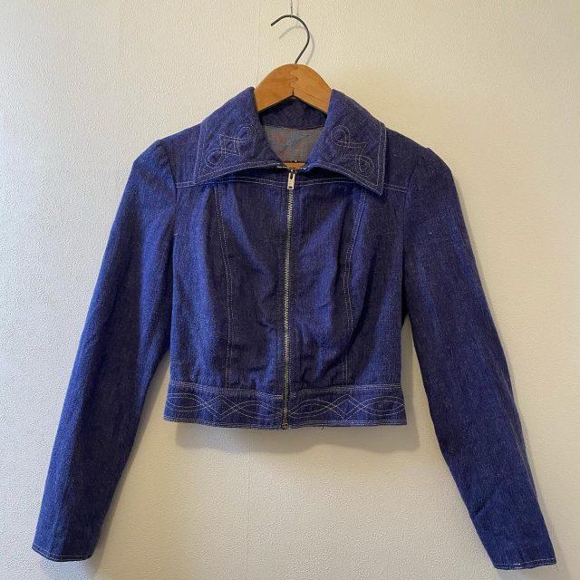 【women's】 denim jacket ¥8,800-  #alaska_tokyo #vintage #shimokitazawa #usedclothing