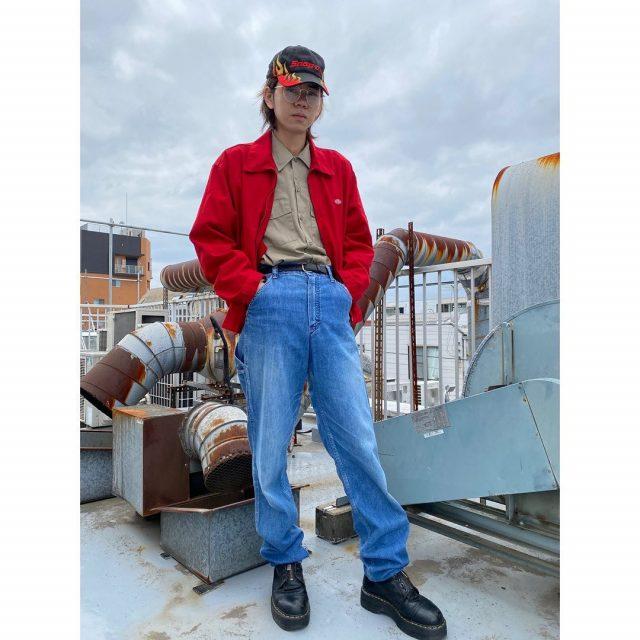 【men's】 ・Dickies work jacket ・Work shirts ・Old painter denim pants ・Snap-on cap  #alaska_tokyo #vintage #shimokitazawa #usedclothing