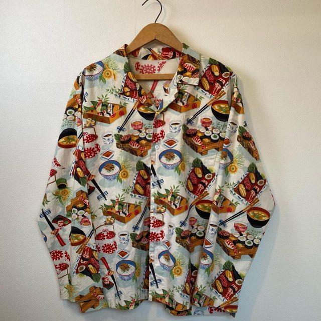 【men's】SUSHI shirt ¥6,600-  #alaska_tokyo #vintage #shimokitazawa #usedclothing #SUSHI