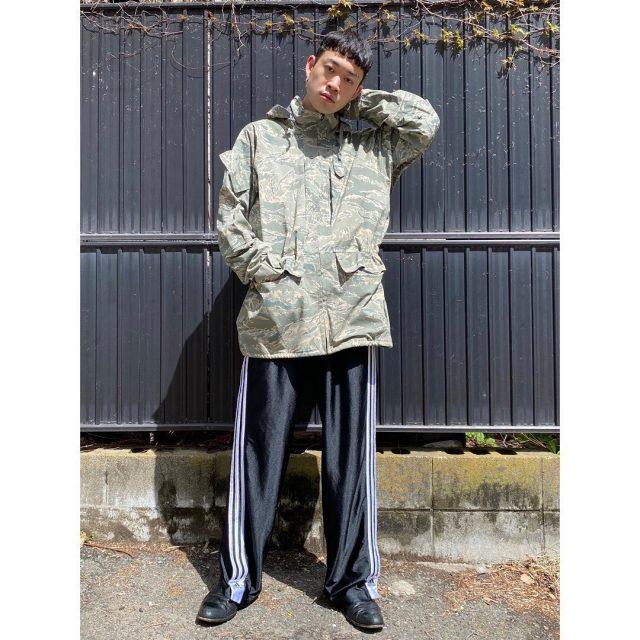【men's】 ・U.S Army ECWCS GORE-TEX parka ・adidas line track pants #alaska_tokyo #vintage #shimokitazawa #usedclothing