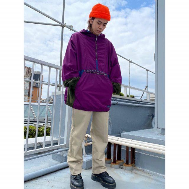 【men's】 ・L.L BEAN anorak hoodie ・Baker pants  #alaska_tokyo #vintage #shimokitazawa #usedclothing