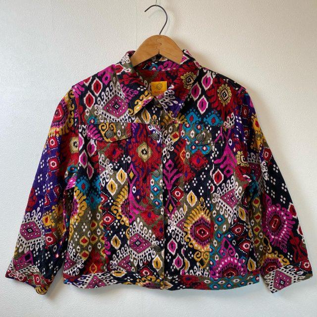 【women's】 cotton jacket ¥7,700-  #alaska_tokyo #vintage #shimokitazawa #usedclothing