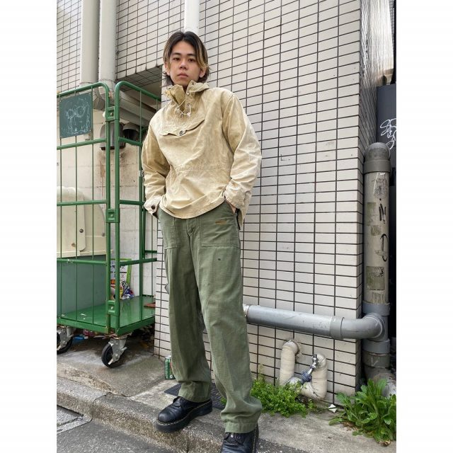 【men's】 ・anorak ・baker pants  #alaska_tokyo #vintage #shimokitazawa #usedclothing
