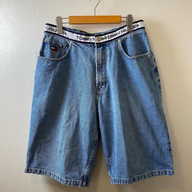【men's】TOMYHILFIGER  denim short pants ¥5,500-  #alaska_tokyo #vintage #shimokitazawa #usedclothing
