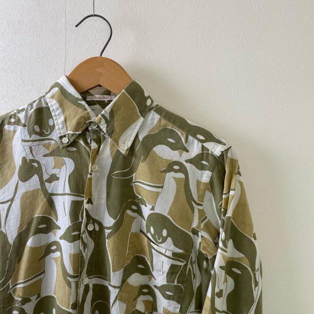 【men's】penguin shirt ¥5,500-  #alaska_tokyo #vintage #shimokitazawa #usedclothing