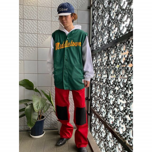 【men's】 ・titleist gilf cap ・game vest ・MASCOT work pants  #alaska_tokyo #vintage #shimokitazawa #usedclothing