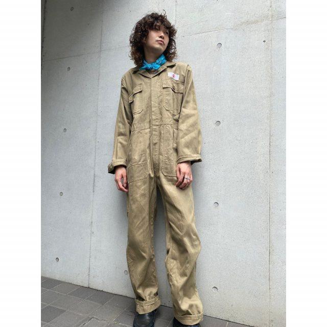 【men's】 ・KLM KLEDING all in one ・paisley bandana  #alaska_tokyo #vintage #shimokitazawa #usedclothing