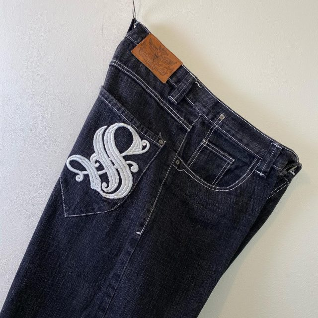 【men's】SOUTHPOLE  denim shorts ¥5,500-  #alaska_tokyo #vintage #shimokitazawa #usedclothing