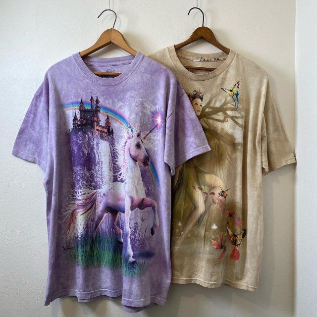 【women's】 fancy T-shirt unicorn/¥5,500- fairy/¥4,950-  #alaska_tokyo #vintage #shimokitazawa #usedclothing