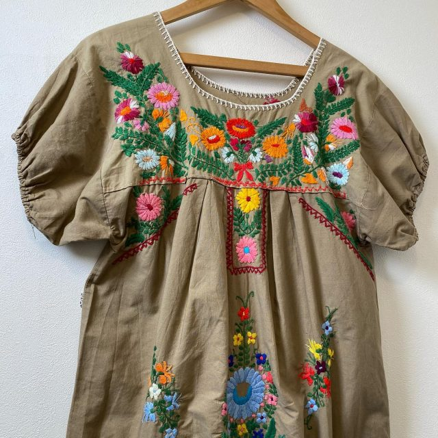 【women's】 Mexico  dress ¥6,600-  #alaska_tokyo #vintage #shimokitazawa #usedclothing