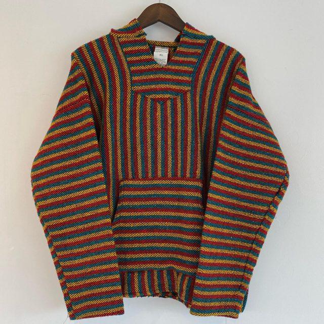 【men's】Rasta baja hoodie ¥5,500-  #alaska_tokyo #vintage #shimokitazawa #usedclothing