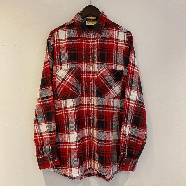 【men's】BIGMAC heavy flannel shirt ¥4,400-  #alaska_tokyo #vintage #shimokitazawa #usedclothing