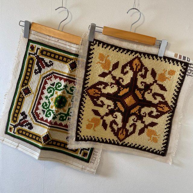 【women's】 handmade tapestry left:¥3,300- right:¥3,300-  #alaska_tokyo #vintage #shimokitazawa #usedclothing
