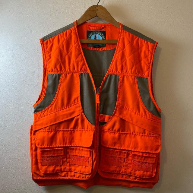 【men's】hunting vest ¥6,600-  #alaska_tokyo #vintage #shimokitazawa #usedclothing